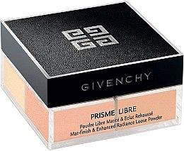 Düfte, Parfümerie und Kosmetik Loser matter Puder mit Glanzeffekt - Givenchy Prisme Libre Mat-finish & Enhanced Radiance Loose Powder