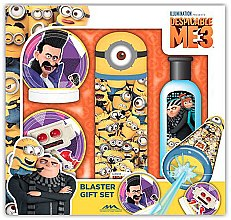 Düfte, Parfümerie und Kosmetik Geschenket Minions - EP Line Minions Blaster Gift Set (Duschgel 100 ml + Wasserpistole + Zielscheibe 2 St.)