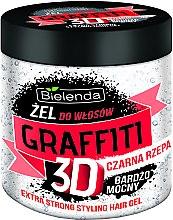 Düfte, Parfümerie und Kosmetik Haargel mit schwarzer Rübe Extra starker Halt - Bielenda GRAFFITI 3D Extra Strong Stayling Hair Gel