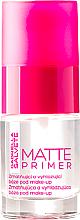 Düfte, Parfümerie und Kosmetik Mattierende Make-Up Base - Gabriella Salvete Matte Primer