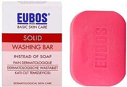 Düfte, Parfümerie und Kosmetik Gesichts- und Körperseife für unreine und Mischhaut - Eubos Med Basic Skin Care Solid Washing Bar Red