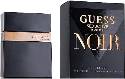 Guess Seductive Homme Noir - Eau de Toilette — Bild N1