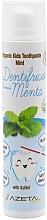 Düfte, Parfümerie und Kosmetik Zahnpasta mit Minzgeschmack - Azeta Bio Organic Kids Toothpaste Mint