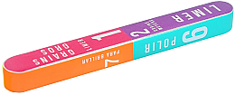 Düfte, Parfümerie und Kosmetik 7-Stufen-Nagelpufferblock 178x22x16mm - Tools For Beauty 7-way Nail Buffer Block