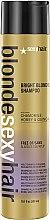 Düfte, Parfümerie und Kosmetik Violett Shampoo für blondes, gesträhntes und silbernes Haar - SexyHair Blonde Sulfate-Free Bright Violet Shampoo