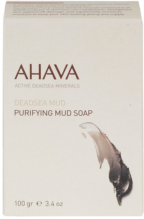 Reinigende Seife mit Schlamm aus dem Toten Meer - Ahava Source Mud Soap — Bild N1