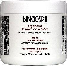 Düfte, Parfümerie und Kosmetik Haarmaske mit Arganöl - BingoSpa Argan Hair Treatment