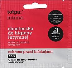 Düfte, Parfümerie und Kosmetik Antibakterielle Tücher für die Intimhygiene 1 St - Tolpa Intima