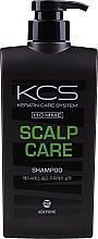 Düfte, Parfümerie und Kosmetik Beruhigendes Anti-Schuppen Haarshampoo für Männer  - KCS Homme Scalp Care Shampoo