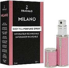 Düfte, Parfümerie und Kosmetik Nachfüllbarer Parfumzerstäuber - Travalo Milano Pink Rose
