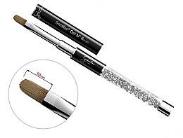 Düfte, Parfümerie und Kosmetik Nagelgel-Pinsel oval - Semilac Gel Brush 6 Oval