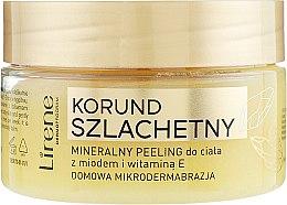 Düfte, Parfümerie und Kosmetik Mineralisches Körperpeeling mit Honig und Vitamin E - Lirene Dermo Program