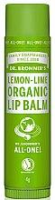 Düfte, Parfümerie und Kosmetik Lippenbalsam mit Zitrone und Limette - Dr. Bronner's Lemon & Lime Lip Balm