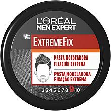 Düfte, Parfümerie und Kosmetik Modellierende Haarpaste Extrem starker Halt - L'Oreal Men Expert ExtremeFix