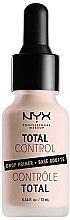 Düfte, Parfümerie und Kosmetik Gesichtsprimer - NYX Professional Makeup Professional Total Control Drop Primer