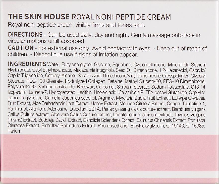 Intensiv straffende Anti-Falten Gesichtscreme mit Peptiden und Noni-Extrakt - The Skin House Royal Noni Peptide Cream — Bild N3