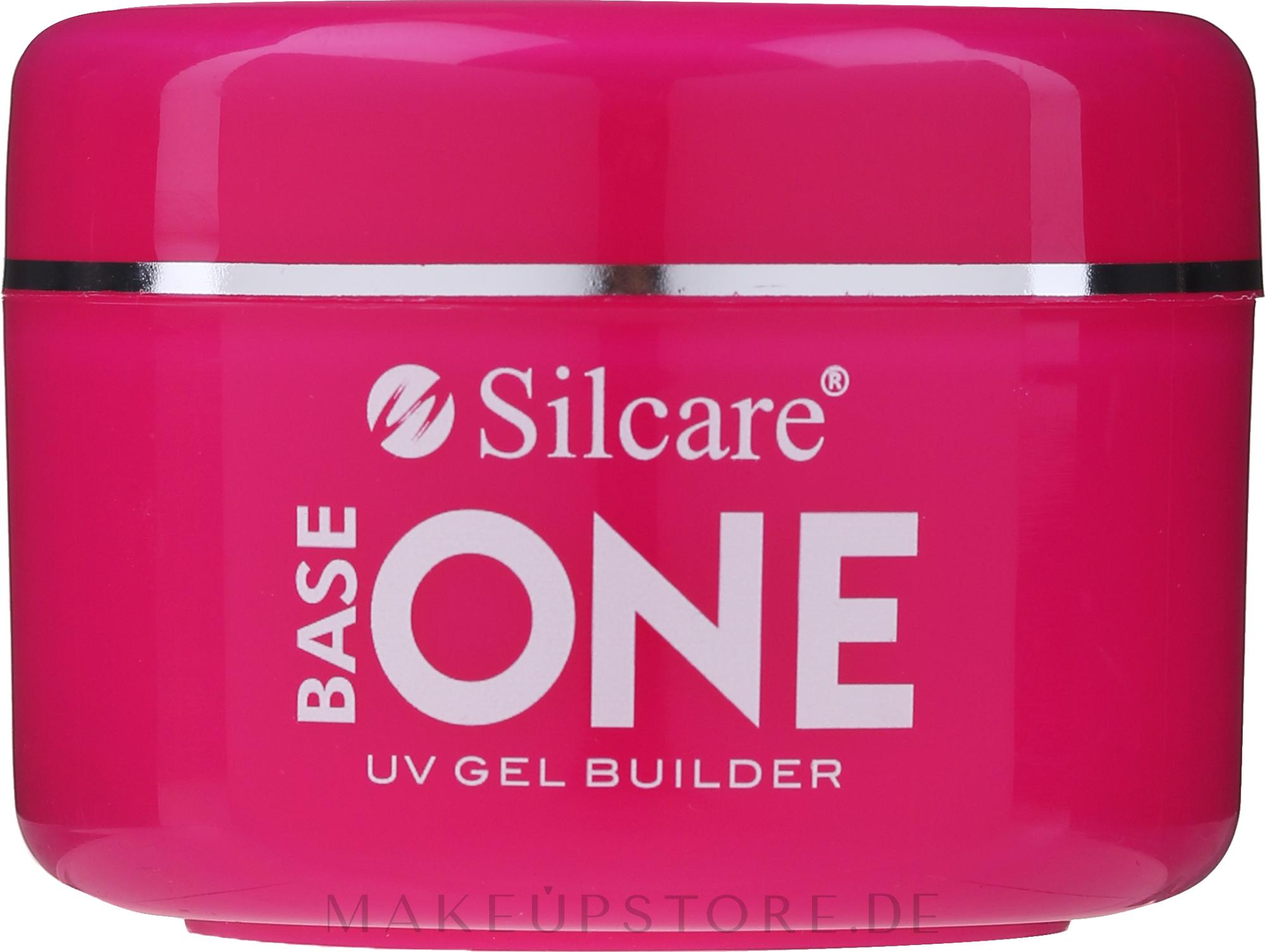 UV Aufbaugel Cover Light - Silcare Base One UV Gel Builder Cover Light — Bild 100 g