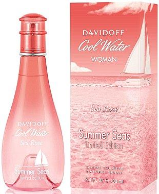 Davidoff Cool Water Sea Rose Summer Seas - Eau de Toilette  — Bild N1