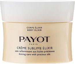 Düfte, Parfümerie und Kosmetik Gessichtscreme - Payot Creme Sublime Elixir