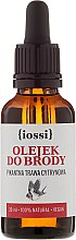 Düfte, Parfümerie und Kosmetik Bartöl mit würzigem Zitronenegrasduft - Iossi