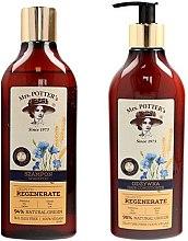 Düfte, Parfümerie und Kosmetik Haarpflegeset - Mrs. Potter's Triple Grain (Shampoo 390ml + Haarspülung 390ml)