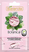 Düfte, Parfümerie und Kosmetik Regenerierende Gesichtsmaske mit rosa Tonerde - Bielenda Botanical Clays