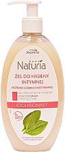 Düfte, Parfümerie und Kosmetik Gel für die Intimhygiene mit Wegerichextrakt - Joanna Naturia Protective Intimate Gel