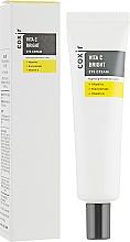 Düfte, Parfümerie und Kosmetik Aufhellende Creme für die Augenpartie gegen Hyperpigmentierung mit Vitaminen, Niacinamid und Vitamin E - Coxir Vita C Bright Eye Cream