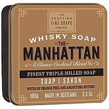 Düfte, Parfümerie und Kosmetik Parfümierte Körperseife - Scottish Fine Soaps The Manhattan Soap In A Tin