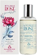 Düfte, Parfümerie und Kosmetik Körperöl mit Braunalgen und Rosenöl - Bulgarian Rose Brown Algae Extract Body Oil