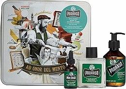 Bartpflegeset - Proraso Refreshing Gift Set (Bartshampoo 200ml + Bartbalsam 100ml + Bartöl 30ml) — Bild N1