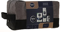 Gesichtspflegeset für Männer - Nivea Men Sensitive Elegance (Rasierschaum 200ml + After Shave Balsam 100ml + Deospray 50ml + Gesichtscreme 75ml) — Bild N1