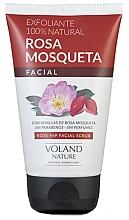 Düfte, Parfümerie und Kosmetik Reinigendes Gesichtspeeling mit Hagebutte - Voland Nature Rose Hip Facial Scrub