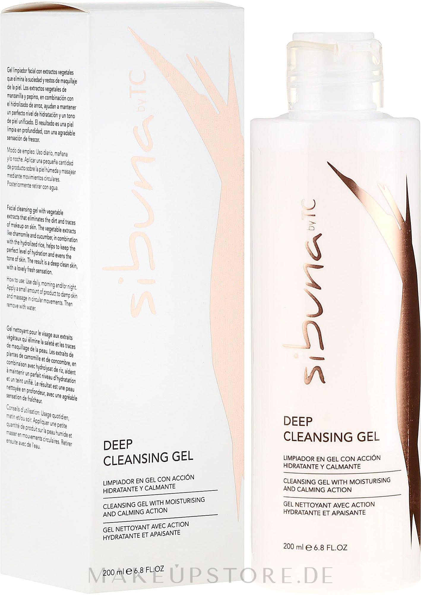 Feuchtigkeitsspendendes und beruhigendes Reinigungsgel für das Gesicht - Transparent Clinic Facial Cleansing Gel — Bild 200 ml