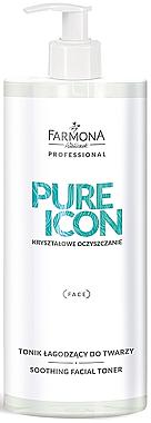 Beruhigendes Gesichtstonikum für empfindliche Haut - Farmona Professional Pure Icon Toner — Bild N1