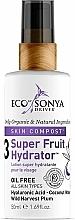 Düfte, Parfümerie und Kosmetik Feuchtigkeitsspendende Gesichtscreme mit Hyaluronsäure und Kokoswasser - Eco by Sonya Super Fruit Hydrator