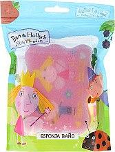 Düfte, Parfümerie und Kosmetik Kinder-Badeschwamm Ben & Holly rosa - Suavipiel Ben & Holly