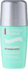 Düfte, Parfümerie und Kosmetik Deo Roll-on Antitranspirant - Biotherm Homme Aquapower Ice Cooling Effect 48H Antiperspirant Deo