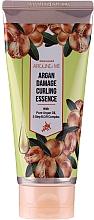Düfte, Parfümerie und Kosmetik Essenz mit Arganöl für stapaziertes und lockiges Haar - Welcos Around me Argan Damage Curling Essence