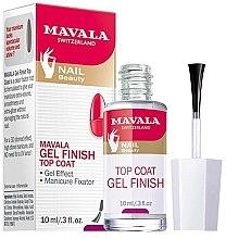 Düfte, Parfümerie und Kosmetik Nagelüberlack mit Gel-Effekt - Mavala Top Coat Gel Finish