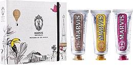 Düfte, Parfümerie und Kosmetik Zahnpasta Geschenkset - Marvis Wonders of The World (3x25ml)