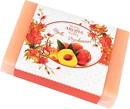Düfte, Parfümerie und Kosmetik Seife mit pfirsich Aroma - Delicate Organic Aroma Soap