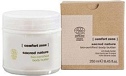 Düfte, Parfümerie und Kosmetik Pflegende Bio Körperbutter - Comfort Zone Sacred Nature Bio-Certified Body Butter