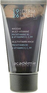 Gescihtsmaske mit Provitamin B5 und Vitaminen E, C, PP - Academie Derm Acte Multivitamin Mask Provitamine B5 & vitamines E,C,PP  — Bild N5
