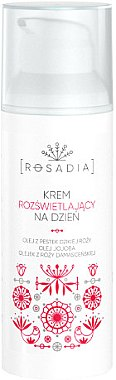 Aufhellende Tagescreme mit Damastrosenöl - Rosadia — Bild N2
