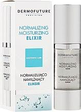 Düfte, Parfümerie und Kosmetik Normalisierendes und feuchtigkeitsspendendes Gesichtselixier - DermoFuture Normalizing Moisturizing Elixir