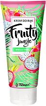 Düfte, Parfümerie und Kosmetik Handcreme mit Drachenfrucht - Farmapol Fruity Jungle Hand Cream