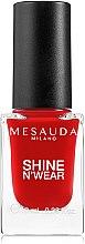 Düfte, Parfümerie und Kosmetik Nagellack - Mesauda Milano Shine N`Wear Nail Polish