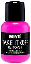 Düfte, Parfümerie und Kosmetik Nagellackentferner - Miyo Take It Off Remover