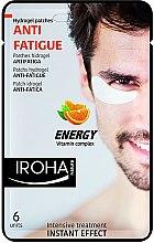 Düfte, Parfümerie und Kosmetik Gelpatches gegen müde Augen mit Vitaminen - Iroha Nature Anti-Fatigue Energy Vitamin Complex